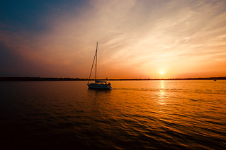 Kiel sunset