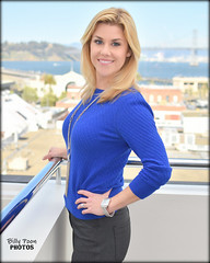 Emily Turner (billypoonphotos) Tags: blue kpix5 cbs cbs5 reporter anchor billypoon billypoonphotos san francisco bay area news photo portrait picture broadcaster broadcasting bio nikon nikkor d5500 35mm 35 mm lens media twitter facebook pretty girl lady woman tv television journalist instagram weather weathercaster emily turner kpix