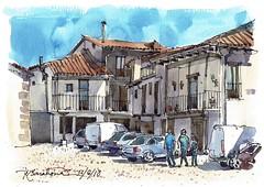 Jerte (P.Barahona) Tags: calle plaza pueblo arquitectura rural urbano