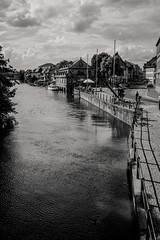 Bamberg in B&W (mripp) Tags: art vintage retro old black white mono monochrome city urban stadt unesco world heritage welterbe weltkulturerbe bavaria sharing echy eych2018 germany sony rx1rii