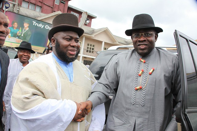 HSDickson - Governor Dickson Visit The Amayanabo Of Kalabari Kingdom 09 March 2013