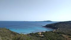 Cala laterale a Punta Molentis