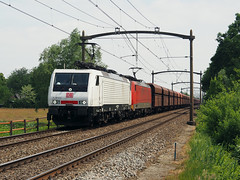 DBC 189 822 (jvr440) Tags: trein train spoorwegen railroad railways oisterwijk db deutsche bahn cargo br189