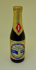 Coventry Evening Telegraph Beer 1991 (Cold War Warrior) Tags: anniversary 1891 1991 newspaper coventry bass beer bottle
