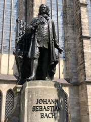 Bach Statue (BiggestWoo) Tags: organ big bronze music allemande germany leipzig memorial statue sebastian johann js bach