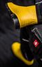 Yellow rubber boots under Engelbert Strauss pants (Anton Stiefel) Tags: rubber boots yellow under pants engelbert strauss