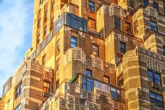 Gotham early evening (albyn.davis) Tags: building architecture shapes geometry sunlight light nyc newyorkcity deco urban city carlyle hotel