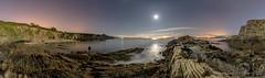 Playa de Estacas - Ares - A Coruña (breijar - MARCOS LOPEZ ALONSO) Tags: playa de estacas ares a coruña mar rocas sedas largaexposición luna tranquilidad landscape beautylands