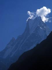 Majestic Machapuchare (Pavlo Kuzyk) Tags: mountain sacred gods himalaya trek hiking nature