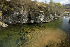 Clear Highland Waters (steve_whitmarsh) Tags: aberdeenshire scottishhighlands scotland highlands braemar water river dee landscape rocks rockpool topic abigfave