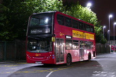 The Last Go-Ahead 231 (londonbusexplorer) Tags: goahead london dennis trident adl enviro 400 en12 sn58cfa 231 turnpike lane station enfield chase tfl buses