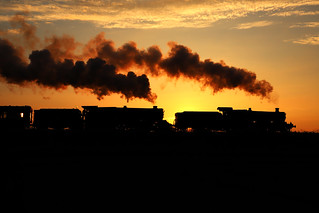 Steam silhouette