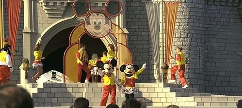 Goofy, Minnie & Mickey