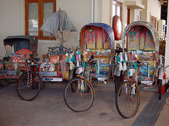 An Assortment of Rickshaws (johnyates2011) Tags: jesadatechnikmuseum rickshaws cars