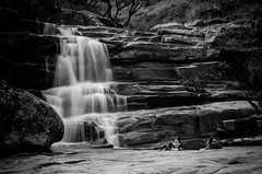 Kyra e Lara (mcvmjr1971) Tags: vermelho cachoeira dos frades parque estadual três picos waterfall dog border collie diego 2018 mmoraes nikon d7000
