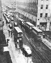 London transport RTL1307, RT2775 & RT2776 in New York 1952. (Ledlon89) Tags: rt rtbus rtl rtlbus leylandtitan aecregent aec leyland lt lte london bus buses londontransport londonbus londonbuses canada usa america 1952 tour 19950s transport