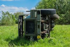 DSC_0025 (Stéphane Piegle) Tags: urbex exploration camion truck épave char militaire abandonné armée