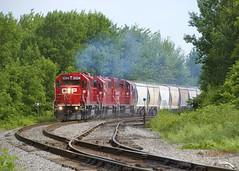 CP F94 (Michael Berry Railfan) Tags: cp canadianpacific cpf94 emd gmd gp382 gp20ceco stconstant lacollesub cp3024 cp4417 cp2205 train freighttrain