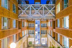 DSC03956b (mitsuo.mar) Tags: architecture night lights university hcu windows