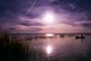 Hay momentos en el que el trabajo se convierte en un placer. (toniant67) Tags: atardecer sunset sundown albufera fisherman lake landscape sun boat contraluz