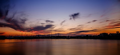 Smoking sky (lizcaldwell72) Tags: longexposure hawkesbay newzealand sunset napier cloud water sky ahuriri light
