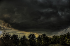 Storm Cloud at Sunset (Klaus Ficker --Landscape and Nature Photographer--) Tags: tonight storm kentucky clouds sunset evening kentuckyphotography klausficker canon eos5dmarkiv canonef24105mmf4lisusm