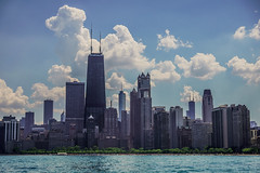 Memorial Day Chicago Skyline (Joshua Mellin) Tags: chicago skyline cloud clouds cloudporn skylines best world global summer 2018 18 photography photographer photo photos pics pic pictures picture joshuamellin journalist writer windycity lakemichigan nature weather lake trumptower johnhancock searstower iconic light lights booming bright white blue green steel concrete travel traveling blog blogger perfect beautiful hot warm sunny cloudy rain perfection ideal boat boating rental visit flights fares hotels tourism northave northavenue northavenuebeach beach city north ave avenue mountain may