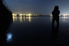 At the beach (essex_mud_explorer) Tags: hunter streamfisher green rubber thigh hip boots waders gates madeinscotland madeinbritain cuissardes watstiefel gummistiefel rubberlaarzen bottes wading splashing paddling water