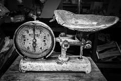Detecto (Dalliance with Light (Andy Farmer)) Tags: detecto italianmarket scale vendor street bw antique philly philadelphia 9thst pennsylvania unitedstates us