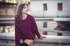 Elena - 4/5 (Pogdorica) Tags: modelo sesion retrato posado chica elena parque
