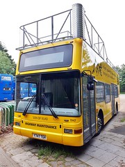 Southern Vectis Plaxton President bodied Volvo B7TL Y747TGH now converted to a Tree Cutter, at Carisbrooke 9 June 2018 (IslandYorkie) Tags: buses busesontheisleofwight busesinthesouthofengland volvobuses volvob7tl plaxtonbody plaxtonpresident y747tgh 1947 southernvectis goaheadgroup gosouthcoast svoc treecutter opentopconversion sonofvlad carisbrooke newport isleofwight busesihavedriven