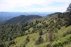Fantastic view, from this section of trail (rozoneill) Tags: oregon jackash trail blm siskiyou mountains jacksonville hiking grub gulch sterling ditch ruch