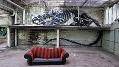 ROA / Mariakerke - 22 mei 2018 (Ferdinand 'Ferre' Feys) Tags: gent ghent gand belgium belgique belgië streetart artdelarue graffitiart graffiti graff urbanart urbanarte arteurbano ferdinandfeys roa