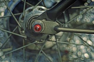 Gazelle Bike Axle 2
