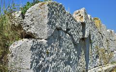 Masonry 9 (orientalizing) Tags: archaeologicalsite archaia archaic architecture boiotia desktop eleon featured greece lesbianmasonry masonry monumental polygonal