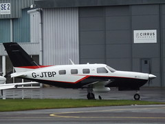 G-JTBP Piper Malibu Mirage 46 Private (Aircaft @ Gloucestershire Airport By James) Tags: gloucestershire airport gjtbp piper mirage malibu 46 private egbj james lloyds