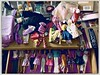 Primark Eröffnung (Casey Hugelfink) Tags: barbie fashion clothes primark madeinchina billigklamotten klamotten chaos girls umkleide shopping neuperlach pep oppening eröffnung barbiepuppen newoutfit wundertüte fernbedienung remotecontrol drawer schublade couchtisch vitrine table verpackung