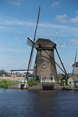 Nederwaard No. 5 (swissgoldeneagle) Tags: mill molenwaard nikond750 nikon nikon80400mmvr windmuehle alblasserwaard woodenmill windmühle südholland southholland nederwaard nederland niederlande netherlands woodenmills zuidholland d750 windmill kinderdijk nl