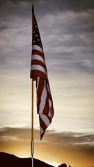 By Dawn's Early Light ... (Explored) (Parowan496) Tags: memorialday usa parowancityutah veteran dawn flag redwhiteandblue americanwarveteran celebration cemetery grave dawnsearlylight explore