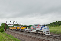 UP EMD SD70AH #1943 @ Tipton, PA (Darryl Rule's Photography) Tags: 1943 2018 amtrak clouds cloudy diesel diesels emd freight freightcar freighttrain freighttrains ge helpers may middledivision mixedfreight ns norfolksouthern ocs passenger passengertrain railroad railroads sd70ace spiritoftheunionpacific spring train trains up unionpacific westslope
