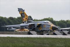 Panavia Tornado ECR - 3 (NickJ 1972) Tags: nato tiger meet poznan 2018 ntm panavia tornado ecr 4657 hardtobehumble aviation