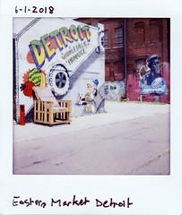instaxsq-018 (elsuperbob) Tags: detroit michigan easternmarket muralsinthemarket murals streetart graffiti lomoinstantsquare fujiflm instax instaxsquare instantfilm