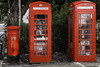 Who's calling? (ericbaygon) Tags: telephone brighton d750 nikon fx red rouge phone cabine