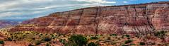 Paria Puppets Panorama (Chief Bwana) Tags: az arizona pariaplateau navajosandstone vermilioncliffs pariapuppets wave psa104 chiefbwana 500views