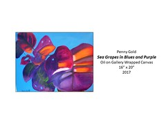 """Sea Grapes In Blues and Purple • <a style=""""font-size:0.8em;"""" href=""""https://www.flickr.com/photos/124378531@N04/40837891180/"""" target=""""_blank"""">View on Flickr</a>"""