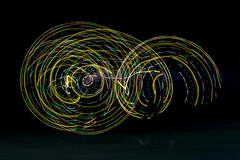 Ghosting (Prestidigitizer) Tags: lightpainting ledhulahoop spinning longexposure le pentaxk3 pentaxda50135mm panning