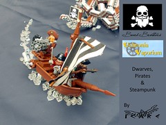 Teaser Beard Brothers (icare_25) Tags: lego steampunk dwarves pirate uchroniavaporium