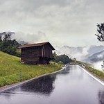 On a rainy day in the Swiss Alps thumbnail