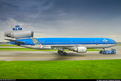 [AMS.2013] #KLM #KL #McDonnell.Douglas #MD11 #PH-KCE #Audrey.Hepburn #awp (CHR / AeroWorldpictures Team) Tags: klm royal dutch airlines mcdonnell douglas md11 msn eng 3x ge cf680c2d1f reg phkck fleet number named ingridbergman history aircraft first flight built site long beach klgb ca usa delivered klmroyaldutchairlines kl cabin config c31y251 withdrawn from use ams stored plane aircrafts airplane mdc md towing amsterdam shiphol nl netherland last farewell european 2013 nikon d300s nikkor 18135mm lightroom aeroworldpictures raw chr awp 48559575 ce005 audreyhepburn 1994 n91566 phkce mojave kmhv mhv