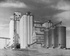 Grain Elevators - Paoli, CO (Christopher J May) Tags: grainelevator paoli colorado co largeformat 8x10 calumetc1 greenmonster gundlachradar efke25 film ishootfilm filmisnotdead
